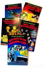 De fem bøger med Freddy og monstrene - Paperback