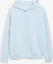 Soft drawstring hoodie - Blue