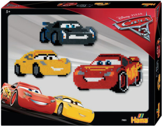 Hama Midi perlesæt - Disney Cars 3 - 4.000 stk.