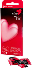 RFSU Thin - ohut kondomi, 10kpl