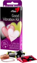 Good Vibration Kit - 6 RFSU:n kondomia + 1 kiihotusrengas