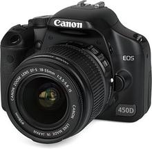 EOS 450D 12.2MP 18-55 mm Sort