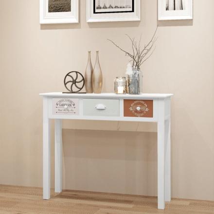 vidaXL Konsolbord i fransk stil trä