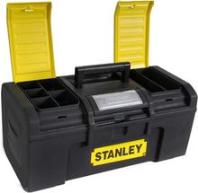 Stanley One Touch værktøjskasse 16 tommer