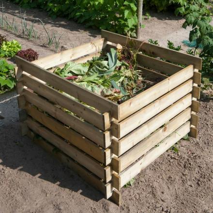 Nature kompostbeholder FSC-træ 650 l 6070480
