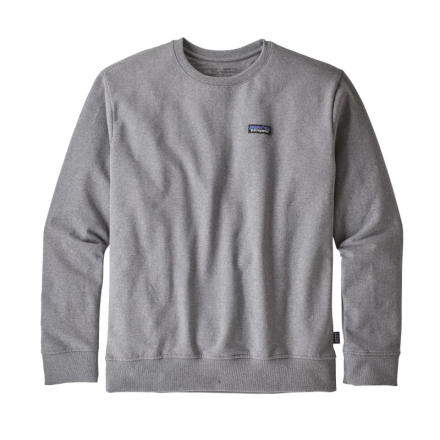 Patagonia Men's P-6 Label Uprisal Crew Sweatshirt Herr Tröja Grå M