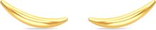 Spinning Jewelry ørestikker - Ocean - Forgyldt sterlingsølv