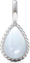 Spinning Jewelry vedhæng - Twisted penda - Rhodineret sterlingsølv