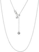Spinning Jewelry halskæde - Rhodineret sterlingsølv