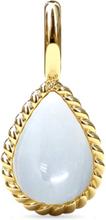 Spinning Jewelry vedhæng - Twisted penda - Forgyldt sterlingsølv