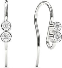 Spinning Jewelry øreringe - Symphony - Rhodineret sterlingsølv
