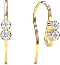 Spinning Jewelry øreringe - Symphony - Forgyldt sterlingsølv