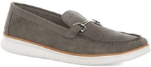 HOUSE OF HOUNDS Grey Suede Snaffle Loafers