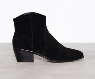 New Look Suede Western Boots