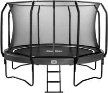 Salta trampolin med net - First Class - Ø 427 cm