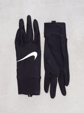 Nike Tech Run Gloves Svart