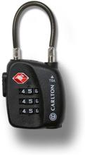 Carlton TSA-lås med kabel