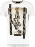Religion DEAD ROSES Tshirt med tryck white