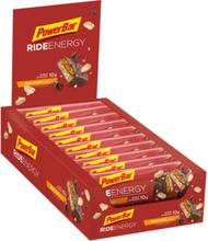 PowerBar RideEnergy Bar Box 18 x 55g Peanut-Caramel 2020 Näringstillskott & Paket