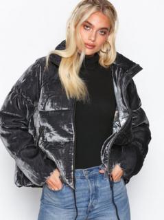 Odd Molly embrace velvet jacket Jackor Asphalt