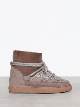 Inuikii Sneaker Sequin Flat Grå