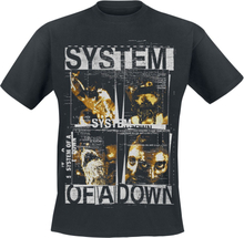 System Of A Down - Face Boxes -T-skjorte - svart