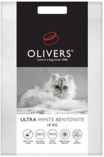 Olivers kattegrus - Ultra white bentonite