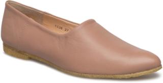 Loafer - Flat Mokasiner Lave Sko Rosa ANGULUS