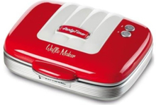 Vohvelirauta Party Time waffle maker Red