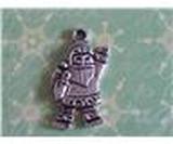 1st Tibetan Silver Hänge Jultomte - Modell 5150