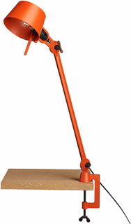 Tonone Bolt En Arm Bordlampe Orange med klemme