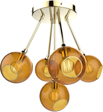 Design by Us Ballroom Molecule Loftlampe Rav/Guld
