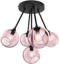 Design by Us Ballroom Molecule Loftlampe Pink/Sort
