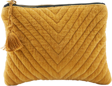 House Doctor Pouch Mila Mustard Small