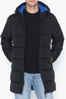 Jack & Jones Jorknight Long Puffer Jacket Jakker & frakker Sort