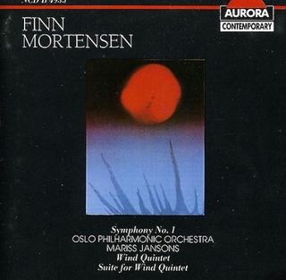 Aurora Finn Mortensen - Finn Mortensen: Symfoni nr 1; Blåsarkvintet...