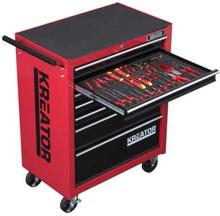Kreator verktøysvogn med 348 verktøysdeler