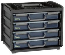 Raaco Handybox 4xPSC verktøyskasse