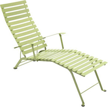 Fermob - Bistro Chaise Longue, Willow Green