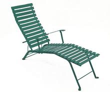 Fermob - Bistro Chaise Longue, Cedar Green