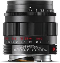 Leica Summilux-M 50 mm f/1,4 ASPH svart krom Classic