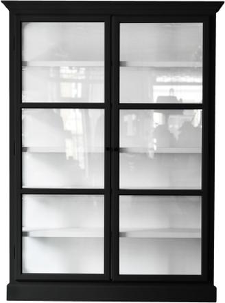 Lindebjerg Design - V2 Vitrineskap, Sort