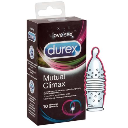 Durex Mutual Climax - Performax Intensiv Kondom 10 stk