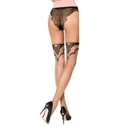 Strømpebukser med Bikini Trusser - Passion 106 - boutiqueerotic