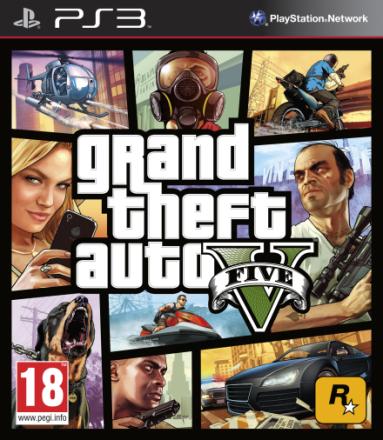 Grand Theft Auto GTA 5 PS3 GTA V / GTA 5