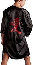 Herre Kimono med Kinesisk Tegn