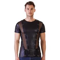Wetlook Shirt til Herre med Ringe - boutiqueerotic