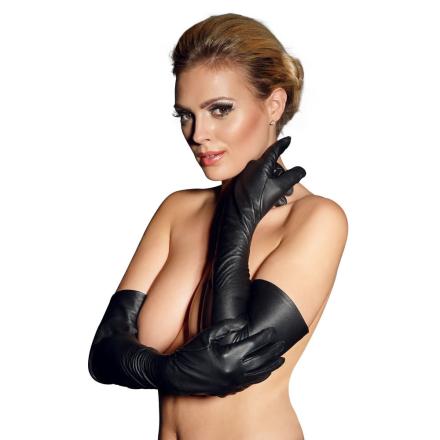 Læder Handsker Lang Model - boutiqueerotic
