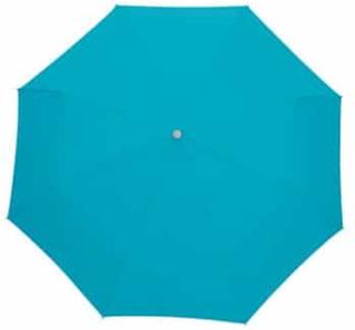 Smuk turkis paraply lige til at smide i tasken - Edward