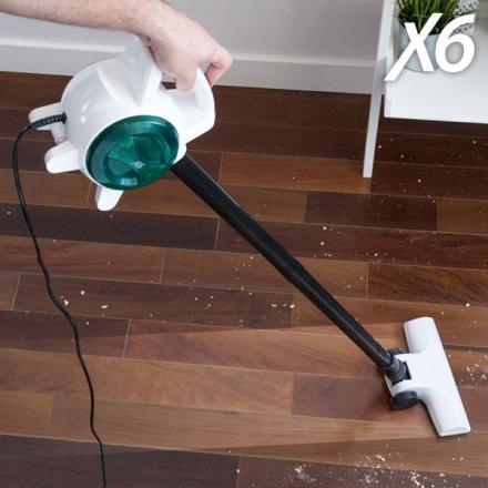Borst- och handdammsugare X6 Handy Vacuum 0,5 L 400-600W Vit